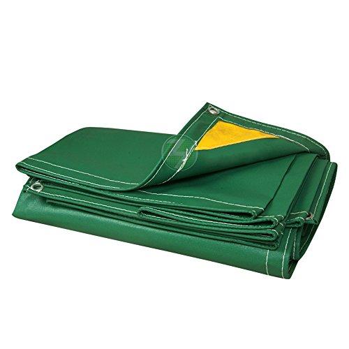 MEIDUO Bches Protection Ignifuge Imperméable de bche Imperméable de bche Imperméable de PVC de bche Matérielle épaisse de PVC pour l'extérieur (Couleur : A, Taille : 3mx5m)