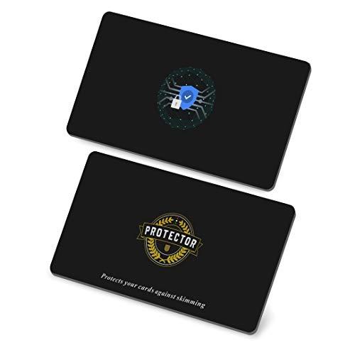 RFID Blocker Karte | Premium NFC Blocker Karte 2020 | RFID Schutz für Ihre EC Karte | Keine Schutzhüllen mehr nötig