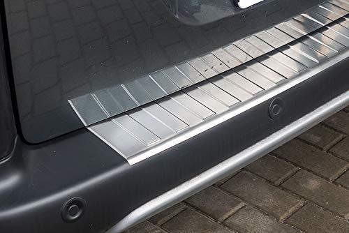 tuning-art L211-P Edelstahl Ladekantenschutz 5 Jahre Garantie, Farbe:Silber