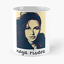Naya Rivera Vector Art Classic Mug - Novelty Ceramic Cups 11oz, Unique Birthday And Holiday Gifts For Mom Mother Father-teiltspe
