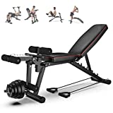 Best Fitness Olympic Folding Benches - Strength Training Benches Adjustable,weight Bench Foldable With Leg Review