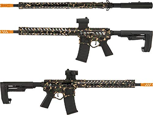 Evike Demolition Ranch eUDR-15 2.0 with Electronic Trigger Armalite Style Airsoft AEG Rifle by EMG/F-1 Firearms (Model: Standard / 350 FPS)