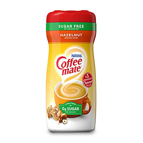 Nestle Coffee Mate Coffee Creamer - Hazelnut Flavoured Creamer - Sugar...