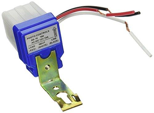 HIGHROCK Ac Dc 12v 10a Auto on Off Photocell Light Switch Photoswitch Light Sensor Switch
