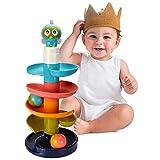 Activity Center Kugelbahn Spielzeug für Jungen und Mädchen , Pädagogisches Spielzeug Rolling Ball Stacker Tower , Lernspielzeug für Geschenke für Kleinkinder und Babys