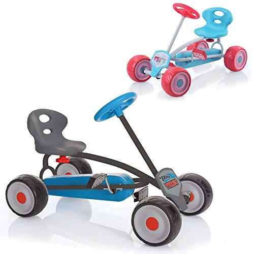 Hauck Mini Go-Kart Turbo Boy, erstes Tretauto für Kinder ab 2 Jahren