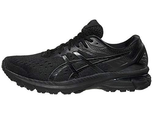 ASICS Men's GT-2000 9 Running Shoes, 11, Black/Black