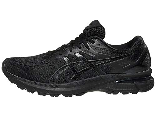ASICS Men's GT-2000 9 Running Shoes, 11M, Black/Black