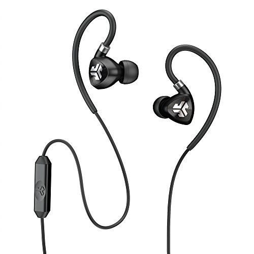JLab Audio Fit2 Sport Earbuds, Sweatproof, Water Resistant with...
