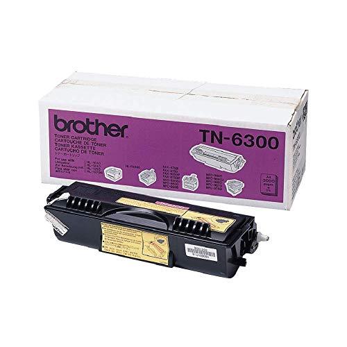 Brother Original Tonerkassette TN-6300 schwarz (für Brother HL-1030, HL-1200 series, HL-1400 Series, HL-P2500, MFC-9650, MFC-9660, MFC-9750, MFC-9760, MFC-9850, MFC-9860, MFC-9870, MFC-9880, FAX-8350P, FAX-8360P, FAX-8750P)
