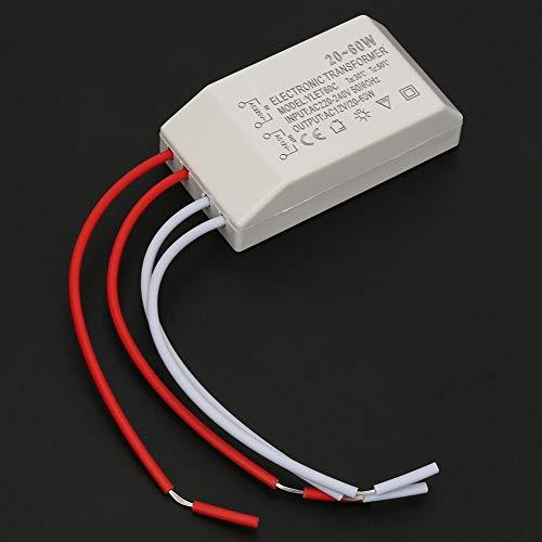 Elektronischer Transformator Spannungswandler, Transformator mit niedriger Spannung 220 V auf AC 12 V 20 – 60 W Treiber für intelligente Stromversorgung