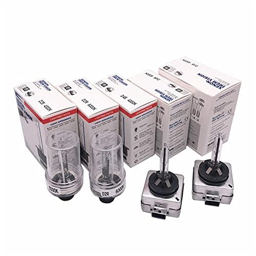 youyu6-2o521 Kit de Bombillas LED para Coche Bombillas de Faros LED HID Xenon Bulb12V 35W D2S D2R D4S D4R D1S D3S D1 D2 D3 D4 4 IV 2PCS para reemplazar la lámpara