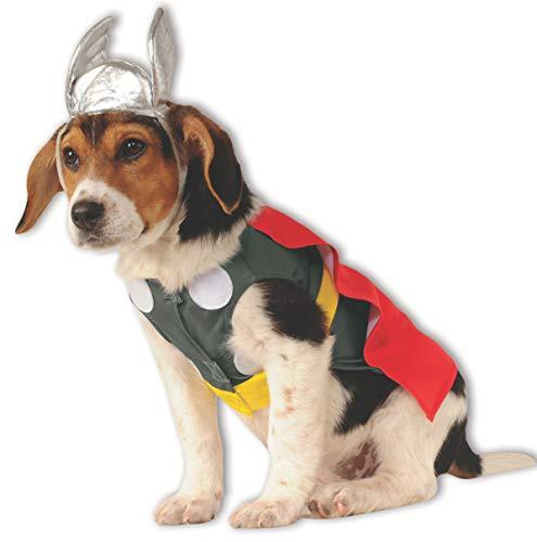 Thor, costume da animale domestico super eroe per animali domestici, costume di Halloween