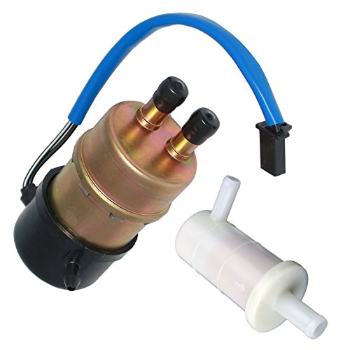 Caltric Fuel Pump And Filter Compatible With Kawasaki Ninja Zx-7R Zx7R Zx750P 1996-2003