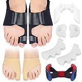 Bunion Corrector, Bunion Toe Separators, Orthopedic Bunion Splint for Big Toe Pain Relief, Hammer Toe Straightening, Bunion Bunion Socks Sleeves Hallux Valgus for Men & Women