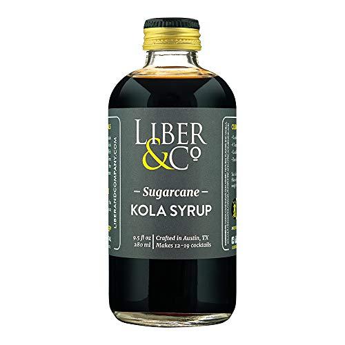 Liber & Co. Sugarcane Kola Syrup (9.5 oz)