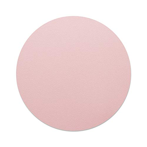 AtailorBird Round Mouse Pad 8.66', Match with Piggy Memory Foam Ergonomic Wrist Rest for Office Home Computer Laptop, Pink