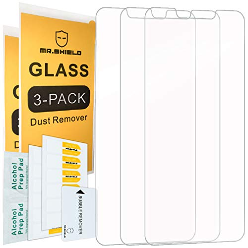 Price comparison product image [3-Pack]-Mr.Shield for Huawei (Mate 20 Lite) [Tempered Glass] Screen Protector with Lifetime Replacement
