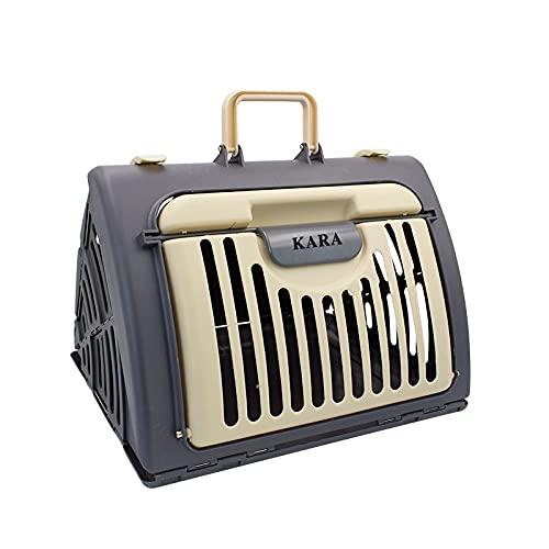 IGEANEI Bolsa para Mascotas Portador de Perros Bolsas Plegable Mascota Gato Perro Caja de Aire Gato Mochila aerolínea Transporte Transporte para Gatos pequeño Perro Gato Jaula Espacio cápsula