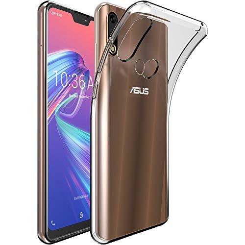 ebestStar - kompatibel mit Asus Zenfone Max Pro M2 Hülle ZB631KL Handyhülle [Ultra Dünn], Klar TPU Schutzhülle, Silikon Hülle, Transparent [ZB631KL: 157.9 x 75.5 x 8.5mm, 6.26'']