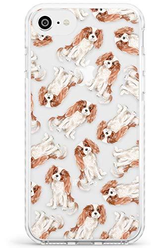 Motivo Cavalier King Charles Spaniel Dog Impact Cover per iPhone 6 TPU Protettivo Phone Leggero con Trasparente Animale Domestico Chiaro Amante dei