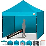 Abcanopy Pop-Up-Zelt, Pavillon, Marktstände, mit 4 abnehmbaren Seitenwänden und Rolltasche, 4...
