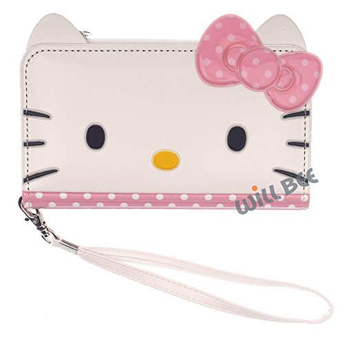 HELLO KITTY - Funda para iPhone 6S / iPhone 6 (4,7 pulgadas), compatible con iPhone 6S iPhone 6 Apple iPhone 6S Apple iPhone 6 (fabricado en Piel sintética)