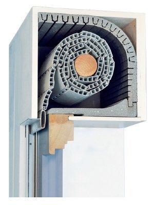 Preisvergleich Produktbild DiHa Rollladenkastendämmung Kombi Flex TF-25 mm Stärke-Verschlußdeckel 175 mm