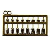 Retro Messing Abakus Metall Anhänger für Schlüsselanhänger Schlüsselanhänger Souvenir Zubehör