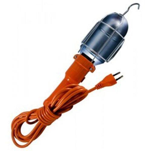 Kabalo EU 100V-240V lumière d'inspection de la Voiture pour Le Travail, Garage, Grenier Baladeuse avec Câble 5m Cable (EU Plug) - Lampe à Main Orange