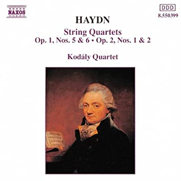 Haydn: String Quartets Nos. 5-8, Op. 1, Nos. 0 & 6, and Op. 2, Nos. 1 & 2