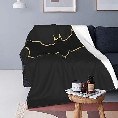 Why So Serious Joker Batman, manta suave para invierno, manta cálida para sofá y sofá, manta cómoda para decoración de sala de estar