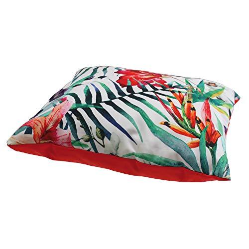 Croci Oreiller Tropical Fluo pour Chien 40 x 40 cm