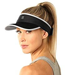 ALWAYS THE RIGHT FIT with SAAKA's fully adjustable, breathable closure system. SOFT AND FLEXIBLE: The SAAKA Visor is designed to be unstructured unlike most visors which are firm and stiff. Our visor is completely flexible and never feels hard while ...