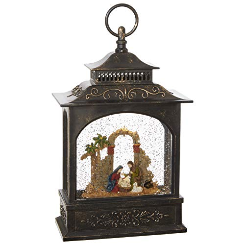 RAZ Imports 11' NATIVITY LIGHTED WATER LANTERN