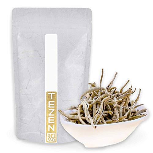 Silver Needle Bio Tee Weißer Bio Tee aus Yunnan, China | Hochwertiger chinesischer Weißer Bio Tee | Yin Zhen Silver Needle Bio Tee (50g)