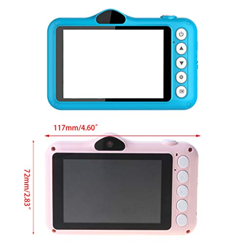 karrychen Digital Camera with 32GB Memory Card, Card Reader for 3-12 Year Old Kids Gifts