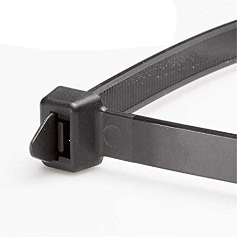 50lb Strength, Standard 11 Length Midland 95602 Truck and Trailer Nylon Cable Tie Strap