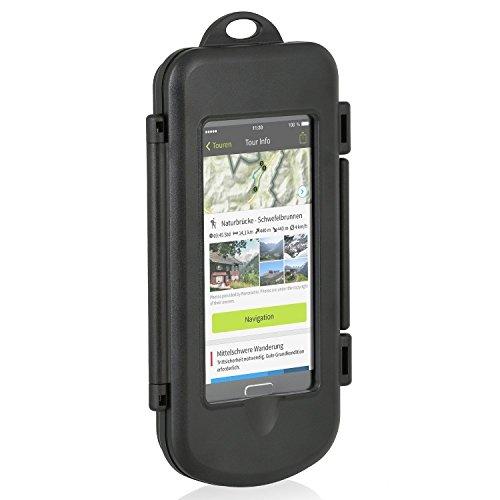 Wicked Chili Smartphone Splash Box M für Samsung, LG, HTC, Sony, Nokia, Wiko, Huawei (max. Maße: 145 x 78 x 13.4 mm, Spritzwasserschutz IPX4, Antireflexive Folie, Made in Germany), Hülle