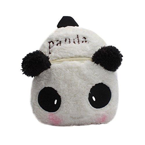 Pwtchenty Kinderrucksack Animal Schule Tasche Rucksack for Kinder Baby Jungen Mädchen Kleinkind Plüsch Tier Rucksack