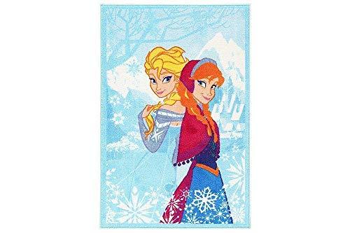 Frozen tapijt voor kinderen 100x170 cm Original Disney Anna en Elsa