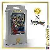 Fan Club Pokémon 155/156 Dresseur Full Art - #myboost X Soleil & Lune 5 Ultra-Prisme - Coffret de 10 Cartes Pokémon Françaises