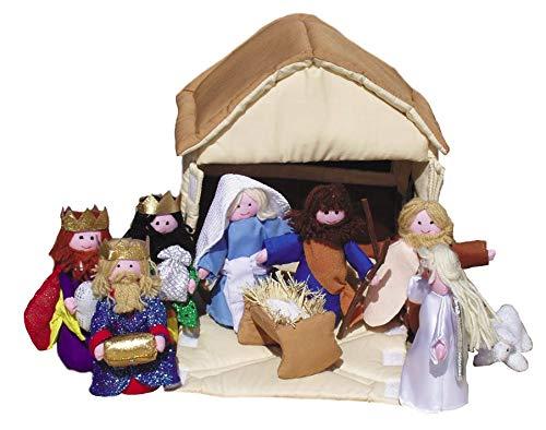 Beautifully Soft Nativity Set for Children / Nativity Scene