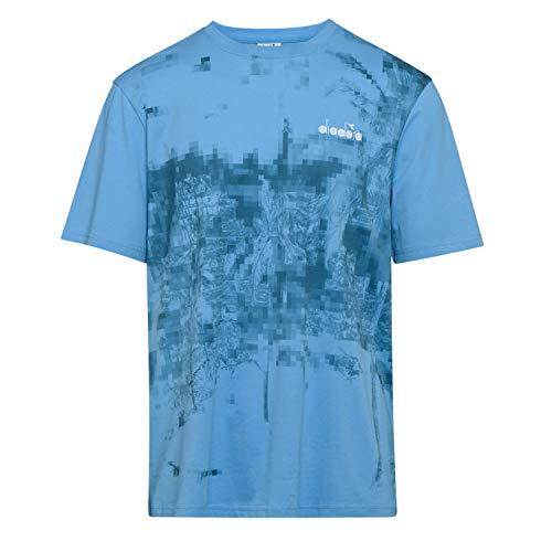 Diadora - T-Shirt T-Shirt SS AOP per Uomo (EU M)