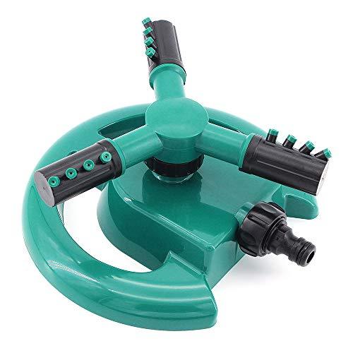 ShawFly Lawn Sprinkler, Garden Sprinkler-Automatic Sistema de riego por aspersión Giratorio de Agua de 360 Grados, para regar Plantas de césped Flores y Verduras Herramienta de riego de Jardines
