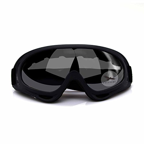 Freehawk Adjustable UV Protective Outdoor Glasses Motorcycle Goggles Dust-Proof Protective Combat Goggles Military Sunglasses Outdoor Tactical Goggles to Prevent Particulates in Grey