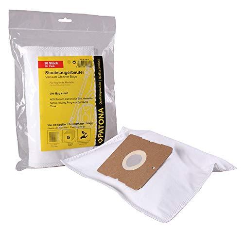 10 Staubsaugerbeutel geeignet für AmazonBasics G51 Swirl Y05 und Menalux 1840 | Vlies 5-lagig - 10er Pack inkl. 1 Mikrofilter