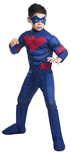 Batman Unlimited Nightwing Deluxe Costume, Child's Large