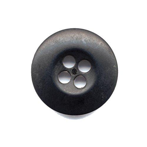 Rothco Bag of 100 B.D.U. Buttons, Black