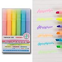 KAIBINY 6色チゼルのチップかわいいマクロロ撮影インクマーカーペンズセット (Color : C)